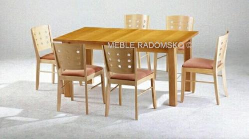Stoły Nowoczesne Meble Radomsko Krzesła Drewniane I Barowe